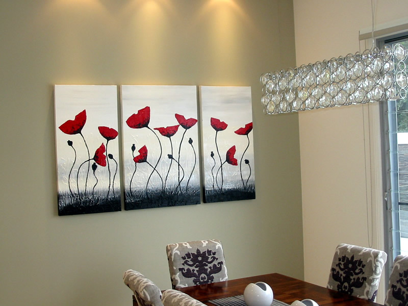 picture hanging service sunshine coast